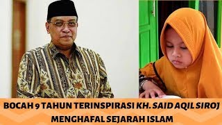 VIRAL !!! BOCAH 9 TAHUN HAFAL SEJARAH ISLAM !!!