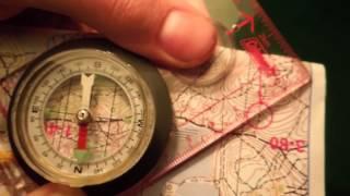 азимут  Или как пользоваться компасом на местности
