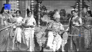 """Sri Krishna bithday Scene""- Sri Krishna Vijayam Movie || NTR | SVR| Jayalalithaa | Jamuna"