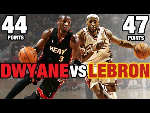 LeBron James vs Dwyane Wade!!! | Historic Duels | Full Highlights | 04.01.2006