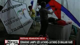 Indahnya layang-layang LED dalam rangkaian festival Krakatau - iNews Malam 31/08