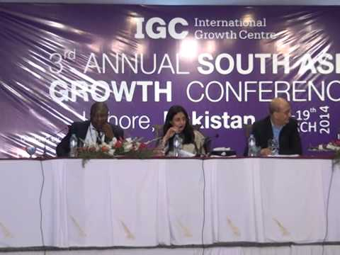 South Asia Growth Conference 2014: Discussion after 10th Speech