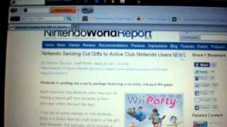Club Nintendo Sending Out Wii Party Game, Pink Wii Remote And Other Gifts!!!!