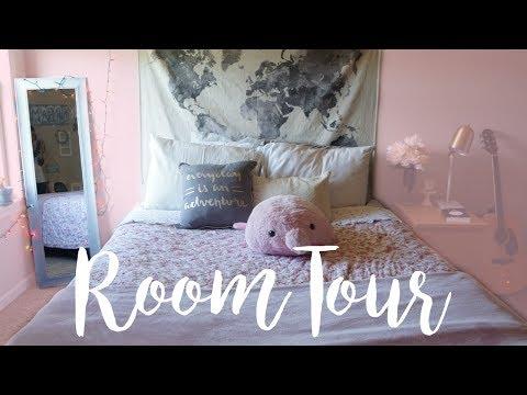 ROOM TOUR 2017 | PASTEL PINK | TUMBLR & PINTEREST INSPIRED