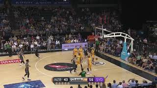 Tai Wesley Posts 14 points & 11 rebounds vs. Sydney Kings