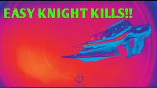 DESTINY SUPER EASY KNIGHT KILLS for NEW HUSK of the PIT (YEAR 3 necrochasm quest)