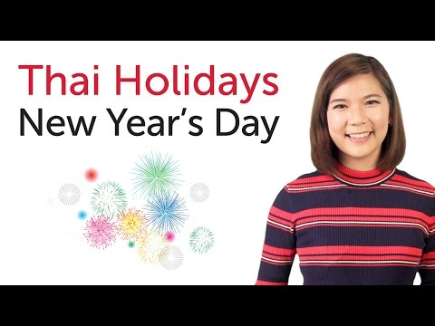 Learn Thai Holidays - New Year's Day