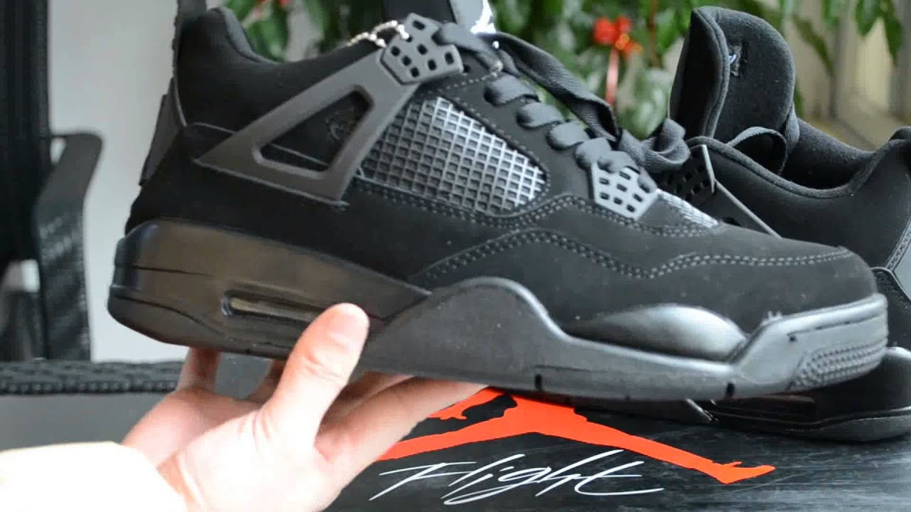 perfect air jordan  black cat  repsooncom youtube