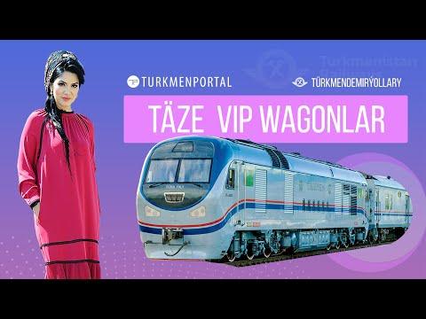 «Türkmendemirýollary» VIP Wagon Hyzmaty 🚆
