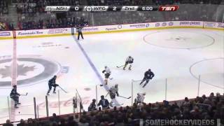 Dustin Byfuglien BIG HITS Montage!