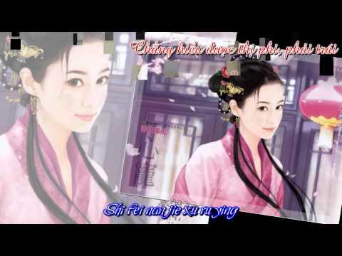 [Pinyin+Vietsub] Thiên tiên tử - Tạ Vũ Hân (OST Hiệp khách hành)