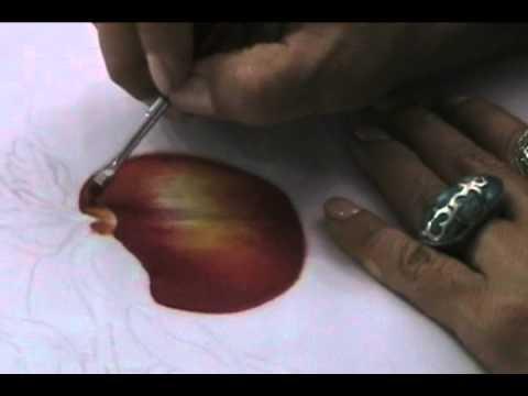 Como pintar una manzana sobre tela youtube - Como pintar sobre tela ...