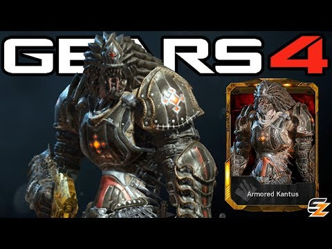 """Gears of War 4 - """"Armored Kantus"""" Character Multiplayer Gameplay!"""