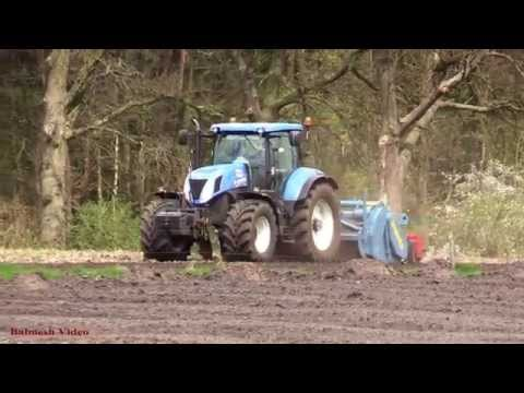 Cultivating with New Holland T7.270 and Ford TW15 and . .