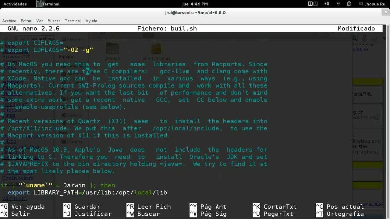 prolog linux