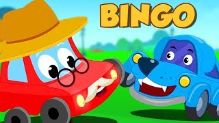 Bingo-Dog Song | Little Red Car-Cartoons by Kinder Kanal
