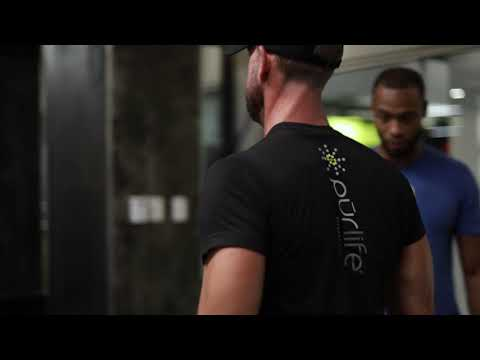 Purlife Personal Trainer TJ Wright And Vinnie