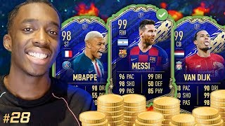 25 MILLION COINS IN THE BANK! UPGRADING THE SQUAD! 99 FEVER!!! #28 MMT