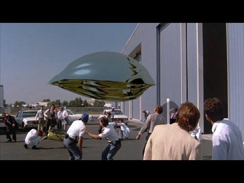 Flight of the Navigator - CGI Spaceship (1986)