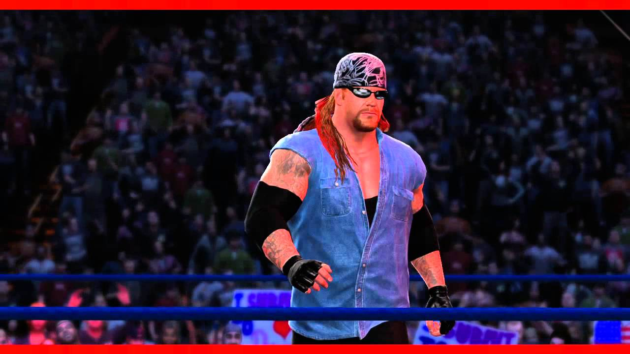 american badass undertaker wwe 2k14 entrance and finisher (official