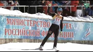 Чайковский в минувшие выходные стал мировым центром по прыжкам на лыжах