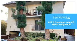 617 N Sweetzer Ave #2, West Hollywood