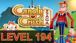 Candy Crush Saga Level 194 Without boosters