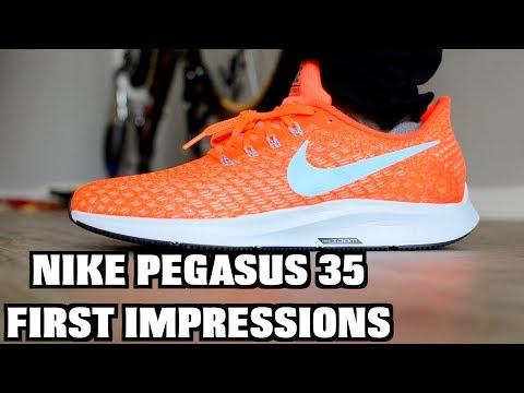 pistorasia tavata laaja valikoima NIKE ZOOM PEGASUS 35 VS 34 comparison - YouTube