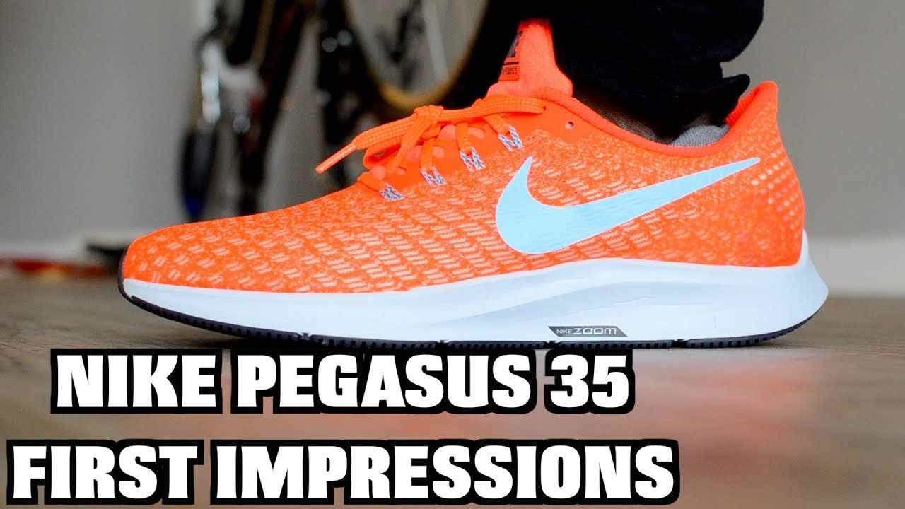 9afbed94ccdb NIKE ZOOM PEGASUS 35 VS 34 comparison - YouTube
