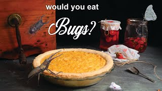 200 year-old crazy dessert with BUGS in it!  | How To Cook That Ann Reardon