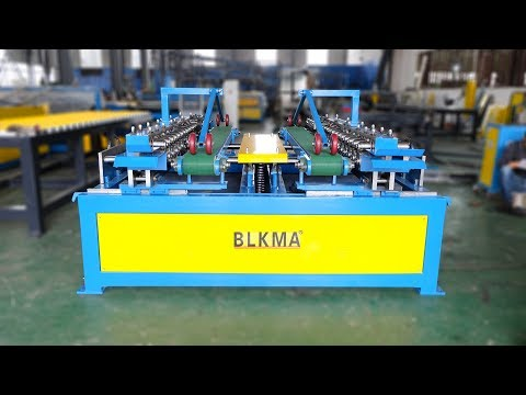 BLKMA company Duct Manufacturing Duplex TDF Flange forming machine
