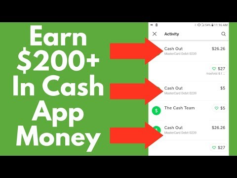 Earn $200 In Free Cash App Money Free! (2019)💰- How To Get Free Cash App Money | Cash App Secrets!
