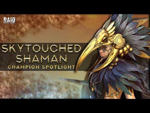 Champion Spotlight: Skytouched Shaman + Bonus End Game Rare I Raid Shadow Legends