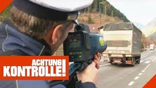 300€ und 3 Punkte: LKW fährt zu schnell! | Achtung Kontrolle | Kabel Eins