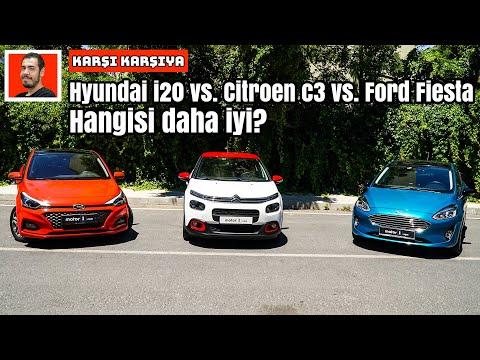 Hyundai i20 vs. Citroen C3 vs. Ford Fiesta | Hangisi Daha İyi? | Karşı Karşıya