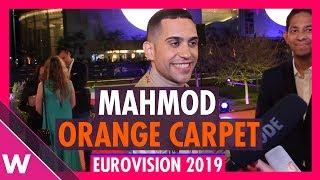 Mahmood (Italy) @ Eurovision 2019 Red / Orange Carpet Opening Ceremony