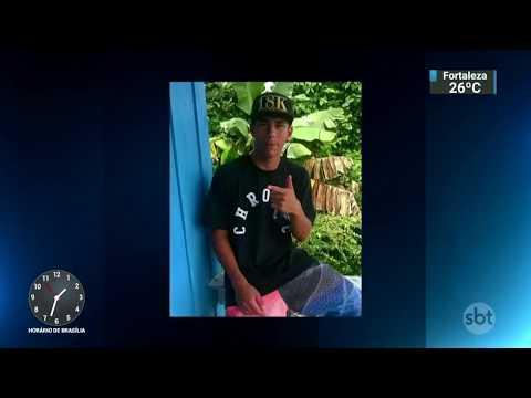 Polícia procura acusado de matar jovem após discussão em festa no RS   SBT Notícias (07/11/17)