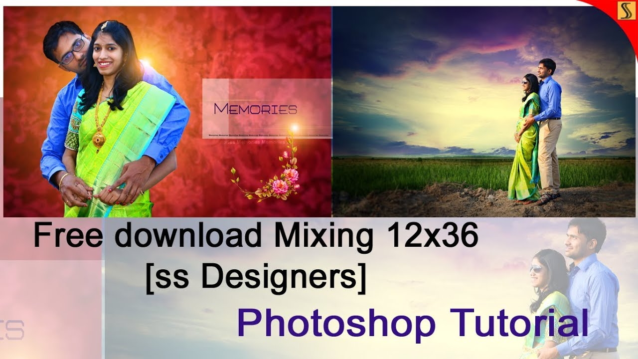 Free Psd How To Design Engagement Al 12 X 36 Templates Photo Tutorial Ss 262