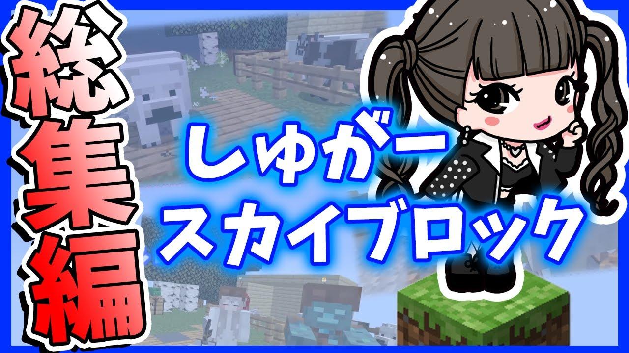 【マインクラフト】しゅがーのスカイブロックを一気におさらい!!