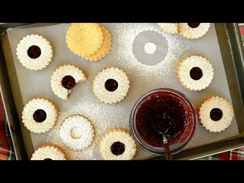 Gluten-Free Linzer Cookies - Holiday Cookie Recipe - It's Raining Flour Episode 153