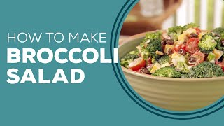 Broccoli Salad Recipe by Paula Deen - Blast from the Past