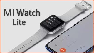 Xiaomi Mi Watch lite: Specifications revealed ahead of the official launch.