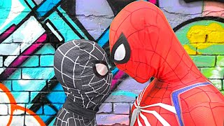 Spider-Men vs BLACK Spider-Man