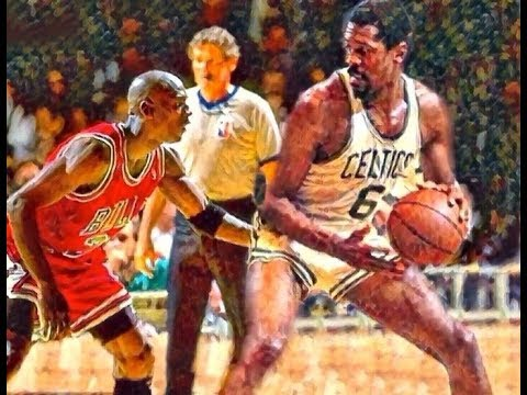 Matchup of Legends: The King Michael Jordan 23  Vs. The Legend Bill Russell 6