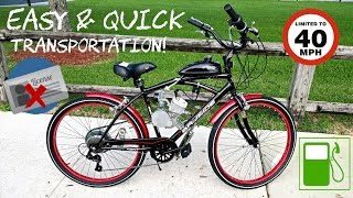 Kent Bayside Cruiser Bike - 80CC Motor Build - Affordable - No License Required!