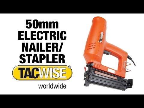 Electric Nailer & Staple Gun -- TACWISE Duo 50