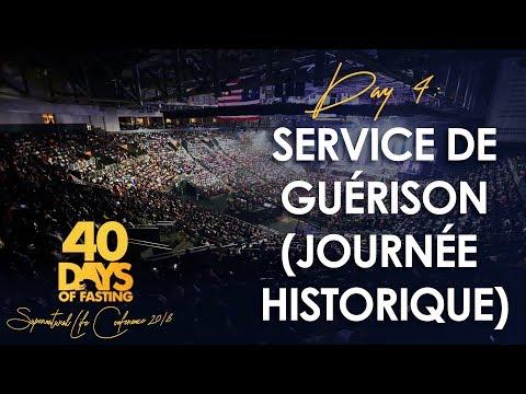 Pasteur Grégory Toussaint | Clôture des 40 Jours 2018- Service de Guérison ( Journée historique | TG
