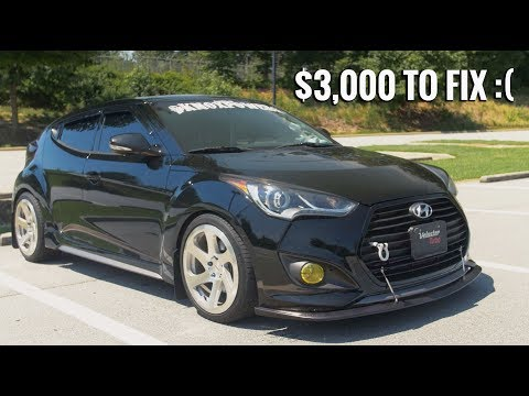 $3,000 Dollars To Fix For Stupid Reasons - Hyundai Veloster Review!