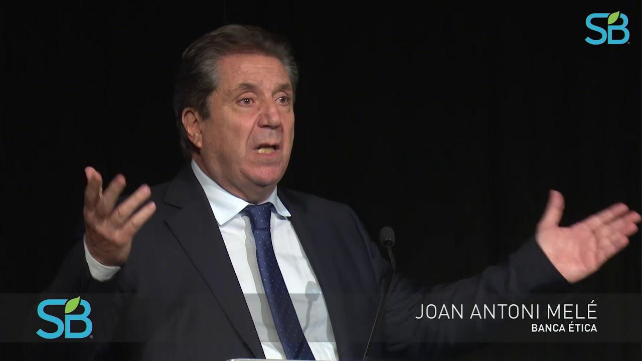 La dignidad humana, fundamento de una nueva economía   Banca Ética, Joan Antoni Melé  