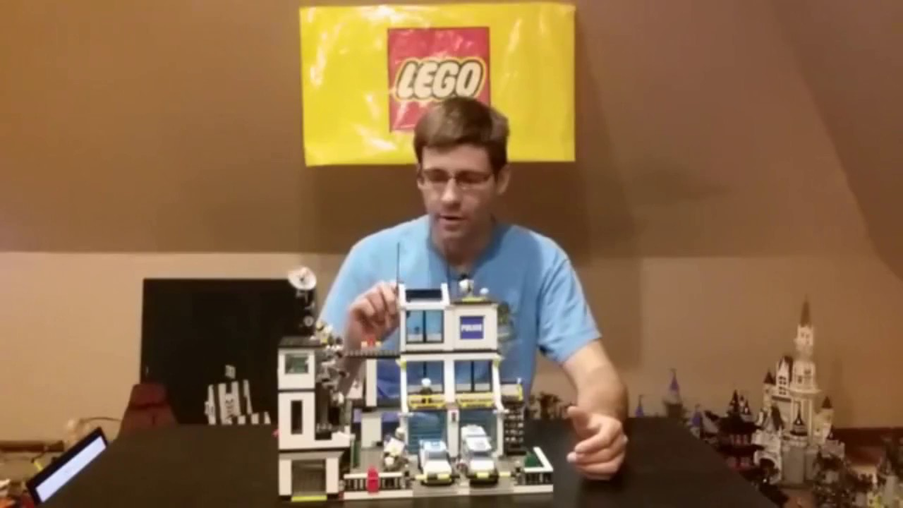 Lego 7744 Police Hq Review Youtube Headquarters